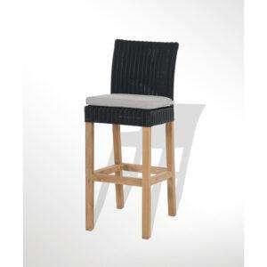 Tribeca Bar chair Black back