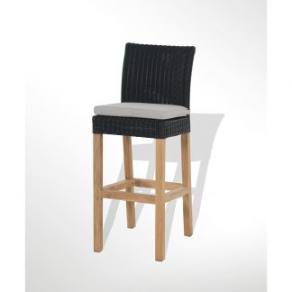 Tribeca Bar chair Black back