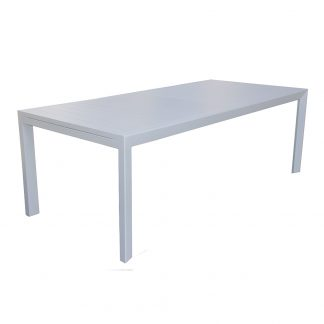 AOL ECLIPSE EXT TABLE CLOSED ANGLE White
