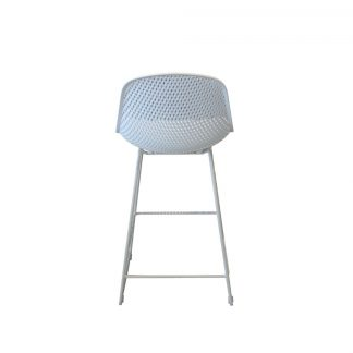 AOL GARDENIA BAR CHAIR BACK White