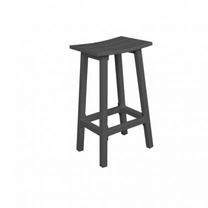 AOL MATZO BAR STOOL - GUNMETAL
