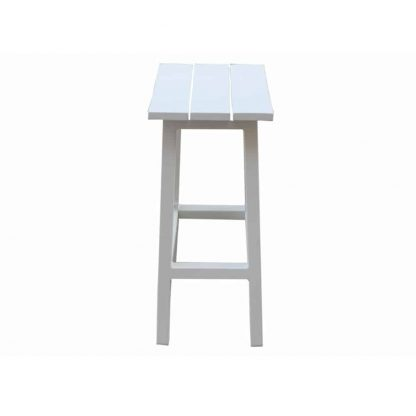 AOL MATZO BAR STOOL SIDE WH