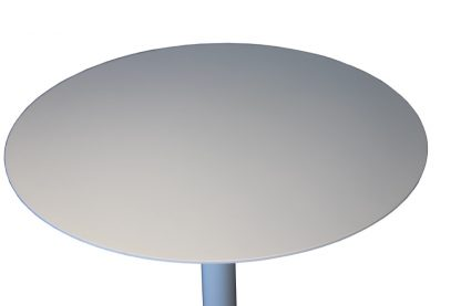 CHECKER TABLE TOP White