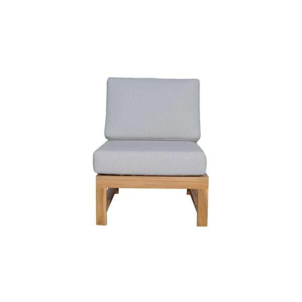 Kalani no arm chair front