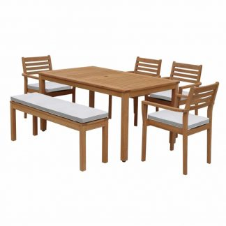 REunion-5_ACE-TABLE-1498X900MM-+-1-X-ACE-BENCH-+-4-X-ACE-STACKING-CHAIR