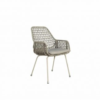 Zara dining chair white angle