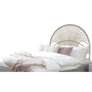 Natural Rattan bed head