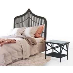 Natural Rattan bed head