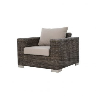Savana Stone Grey Armchair 3