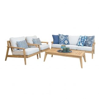 Peru 4 Piece Sofa Set