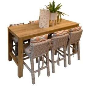 Archipelago Kenyo Bar Table-180cm