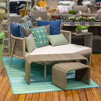 Archipelago Matala Wicker Daybed Outdoor furniture