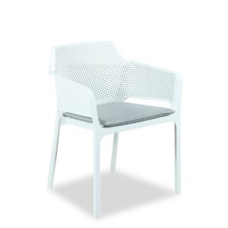 BAILEY PP CHAIR WHITE 800